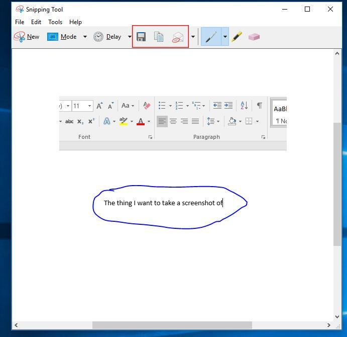 HowTo: Create screenshots in Windows using the Snipping Tool | 3aIT
