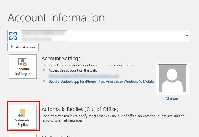 HowTo: Set up an Out of Office message in Outlook and Office